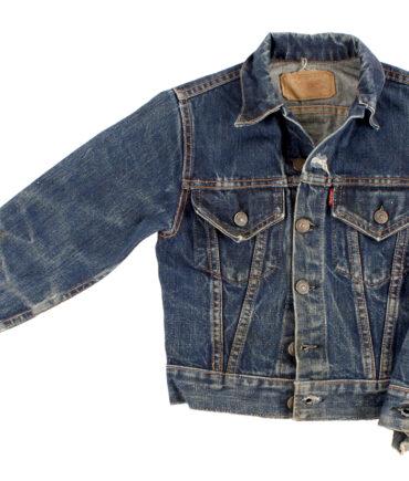 Kids LEVIS BIG E denim jacket 50-60s