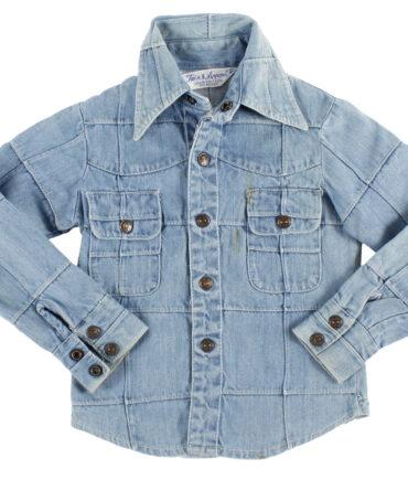 kids TRAIN APPAREL denim shirt