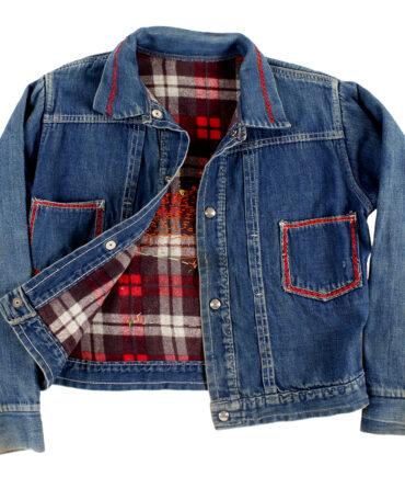 kids Rare denim jacket 60s