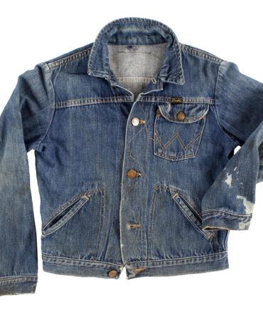 Kids Rare WRANGLER denim jacket 50s