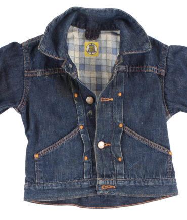 kids BLUE BELL rare denim jacket 40-50s