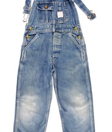 kids POINTER rare denim overalls