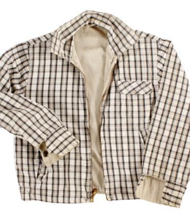 kids Check reversible jacket