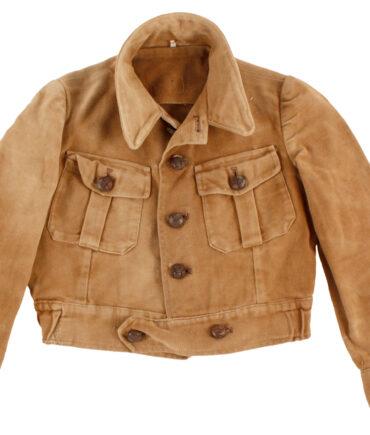 kids Rare woven cloth jacket 50s