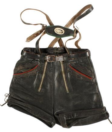 kids Rare Italian folk leather pant