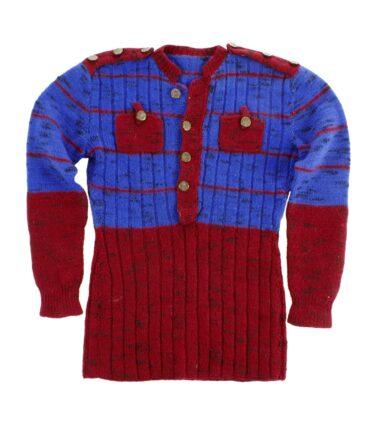 Italian handmade wool sweater 60-70s