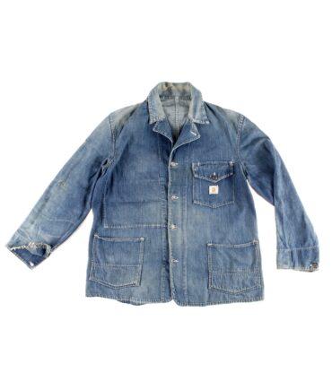 HEAD LIGHT denim work jacket 40s