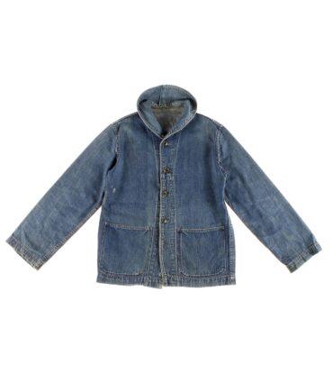 Navy Denim work jacket 50s