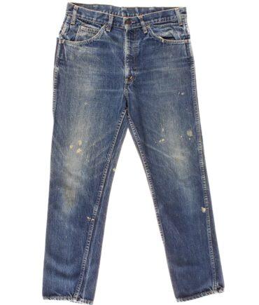 LEVIS Big E denim pant double stitching 50s