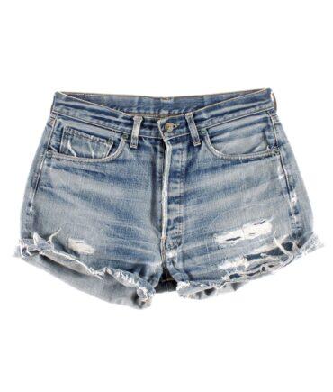 LEVIS Big E denim shorts 60s