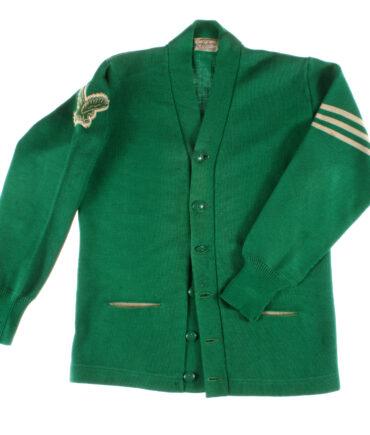 Varsity style, Rare Wool cardigan sweater 60s