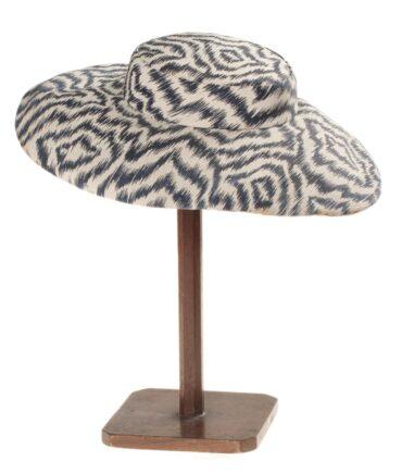 Hat canvas print 50s