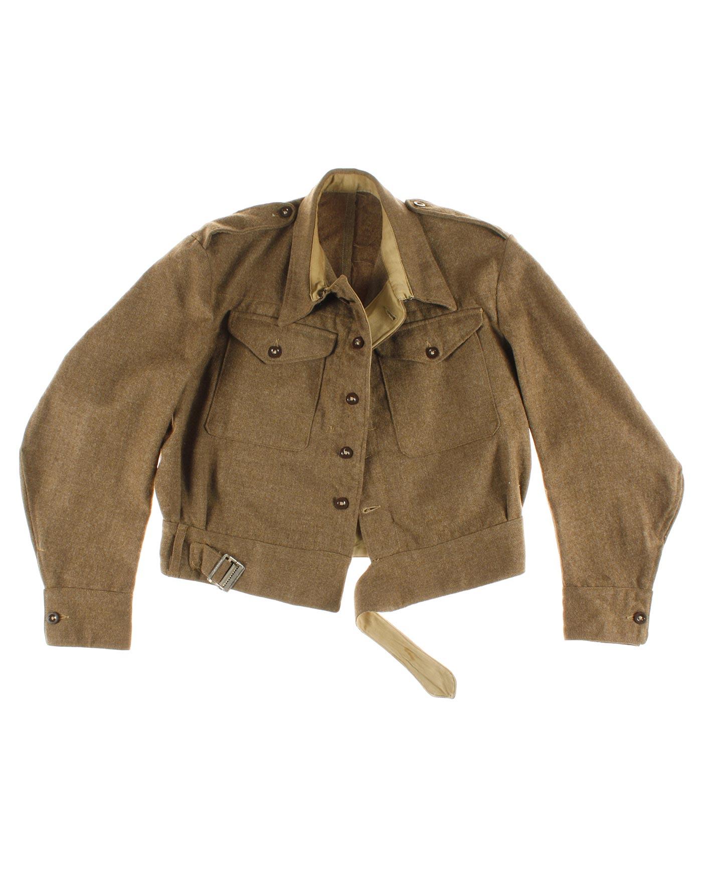 British battledress blouser '40s