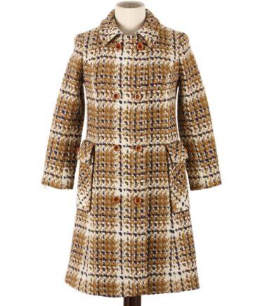 AMICA Confezioni pure wool coat 60s