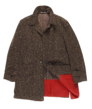 NO LABEL wool coat 50s