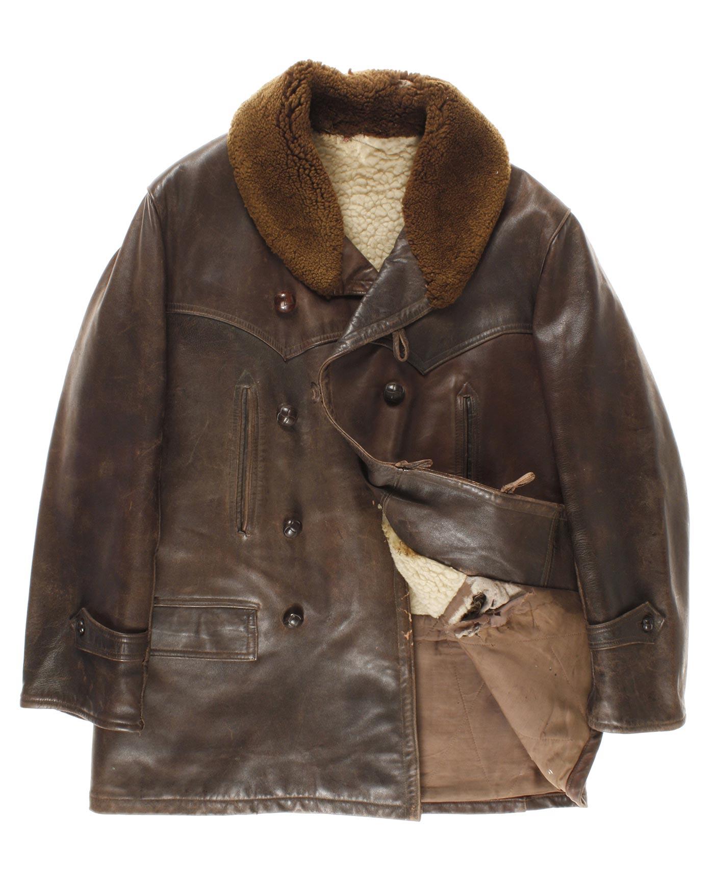 Leather jacket europe - Leather Jacket Origin Norther Europe 40 50s