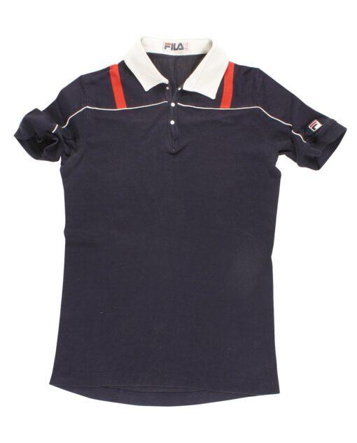 FILA cotton polo around 70/80s