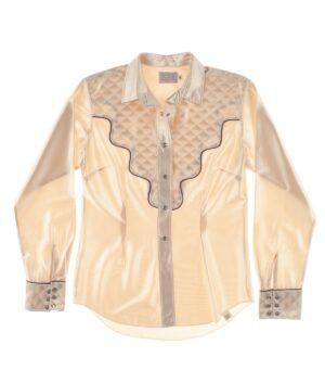 HBARC Ranchwear satin shirt 60/70s