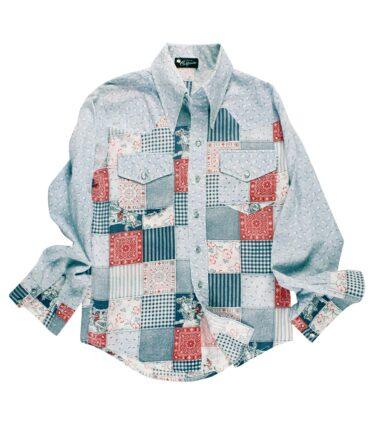 NO LABEL shirt 60/70s