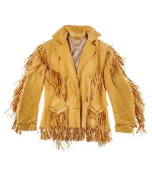 MILLER Western wear, rare woman leather jacket 50s