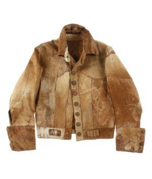 NO LABEL Pony skin jacket 60/70s