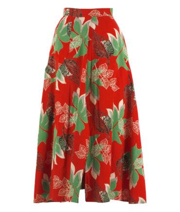 Cotton skirt '50s