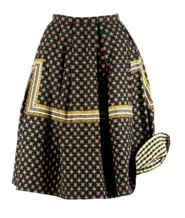 Cotton skirt '40/50s
