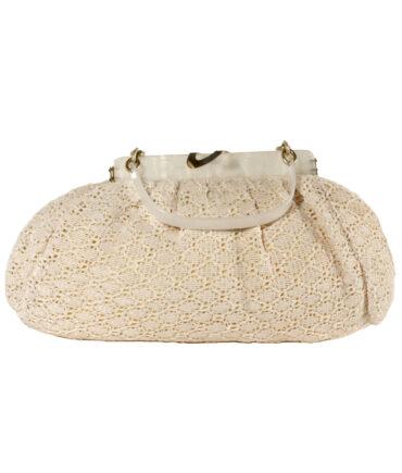 Synthetic and Bakelite handbag '70s