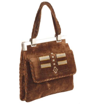 Velour Handbag '60s