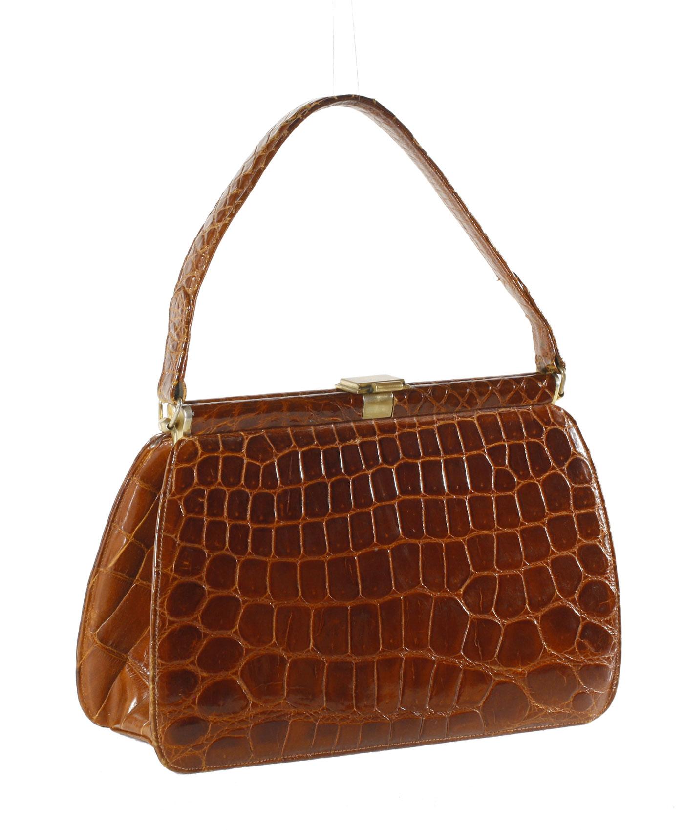 Crocodile bag '50s