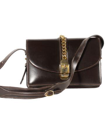 CESARE PICCINI Leather bag '70/80s