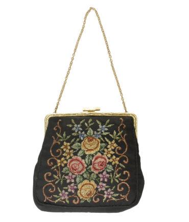 Tapestry bag '40s