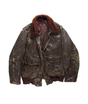 Aviator Leather Jacket '40s