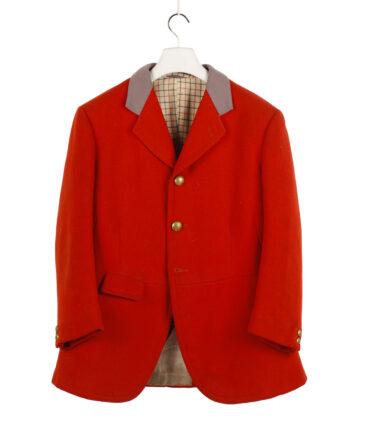 HUNTSMAN LONDON wool jacket