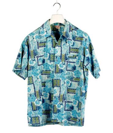 BAREFOOT IN PARADISE Hawaiian shirt '60s ca.