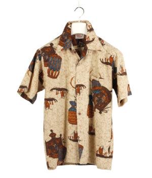 BAREFOOT IN PARADISE Hawaiian shirt 60s