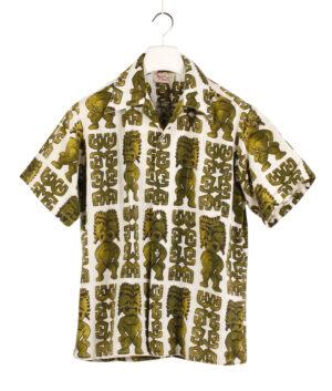 BAREFOOT IN PARADISE Hawaiian shirt '60/70s ca.