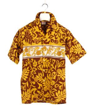 BAREFOOT IN PARADISE Hawaiian shirt '70s ca.