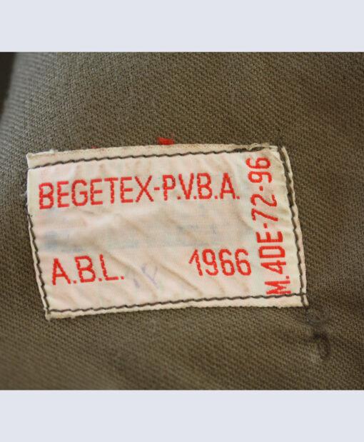 Begetex P.V.B.A. Wool Blouser, '60s