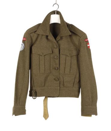 Danish Military Wool Blouser, '50s