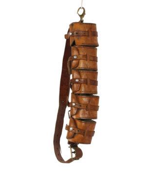 Ammunition Leather belt leads '40/50s