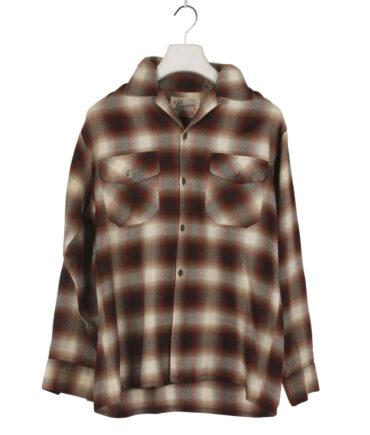 LANEROSSI Wool Shirt '50s