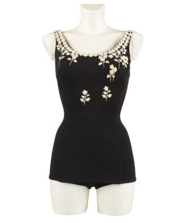 ALIX OF MIAMI bathing suit '50s